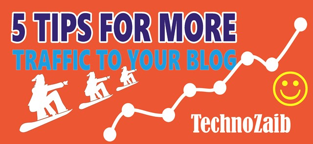 5 tips for more traffic to your blog