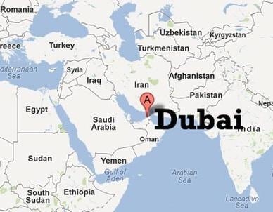 Dubai dünyanın Neresinde