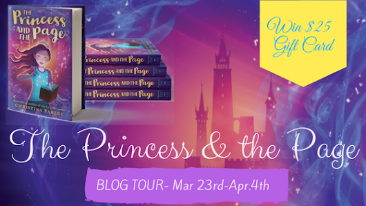 BLOG TOUR: The Princess & The Page by Christina Farley - Ashley's Review + GIVEAWAY!