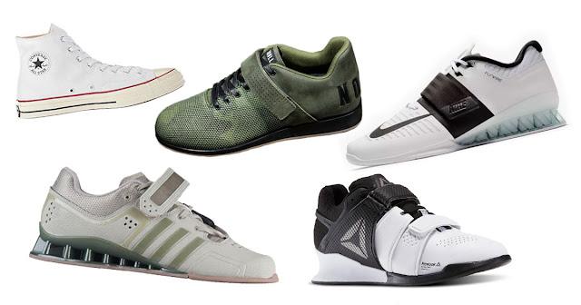 Sepatu untuk Olahraga Angkat Berat