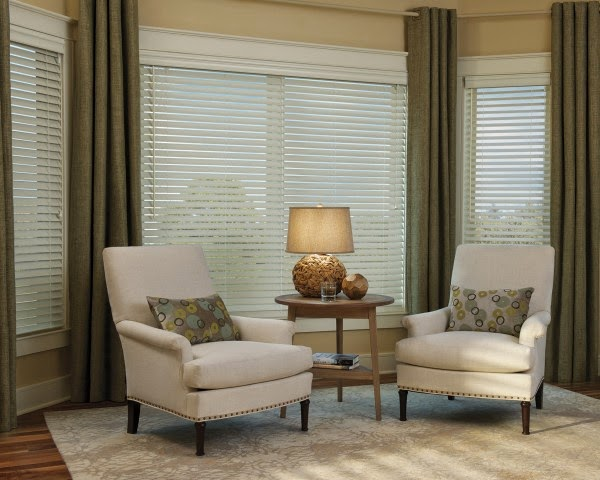 Style Unusual Faux Wood Blinds For Your Living Room