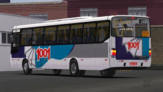 OMSI 2 - Marcopolo Viale MB OF-1722M padrão Auto Viação 1001