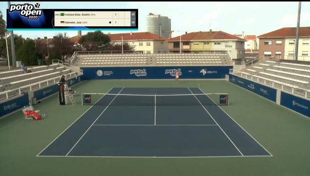 Beatriz Haddad Maia W25 Porto tênis