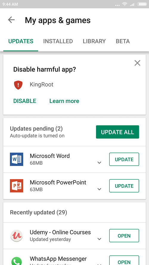 See How to Fix 'Apps not responding, crashing or Freezing'