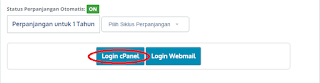 login cpanel, masuk cpanel, cpanel wordpress