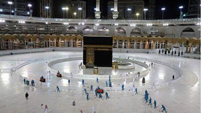 Arab Saudi Kampanyekan Sadar Pencegahan Covid-19 pada Jamaah Haji