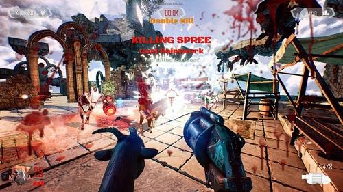 Các chú dê...chiến binh nhố nhăng nhưng lại nguy hiểm hết mức trong Goat of Duty