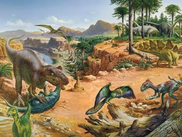 Dinossauros e Animais Pré-históricos