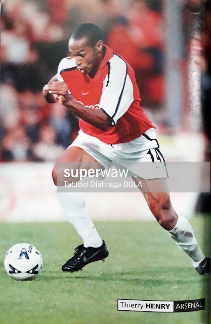PIN UP THIERRY HENRY (ARSENAL)