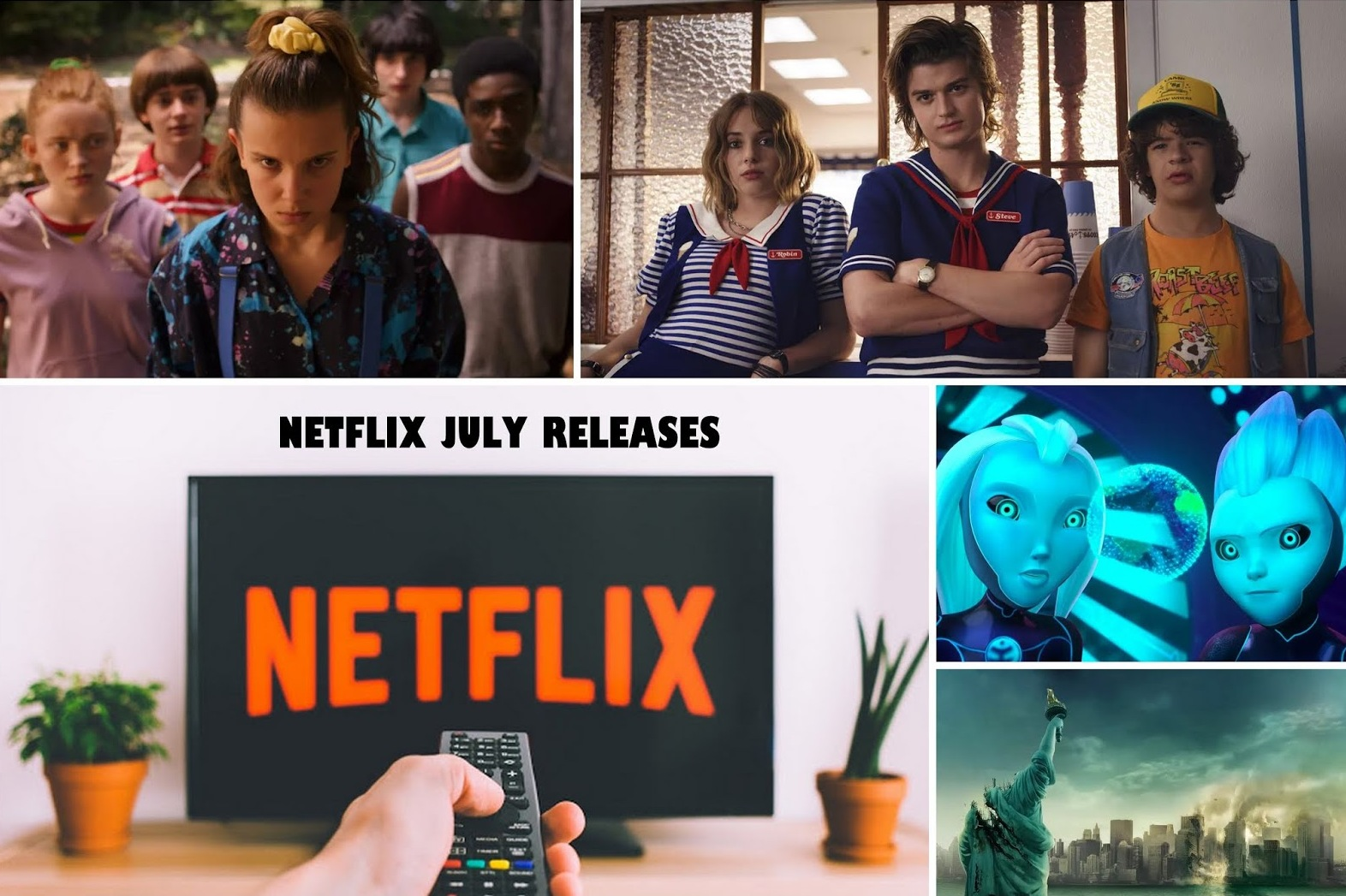 Every Movie and show release for Netflix : July 2019   The
