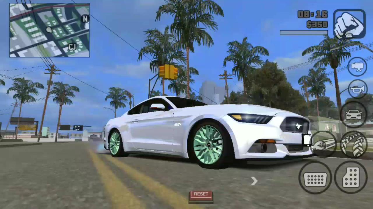 GTA SA Andreas Ultra High Graphics Mod for Android Highly