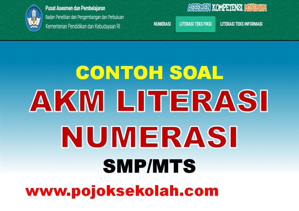 Soal AKM Literasi Dan Numerasi Jenjang SMP/MTs
