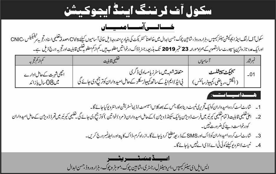 Jobs in Hassab Abdal City