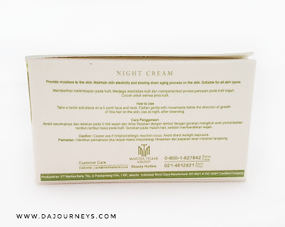 Solusi Organic Renewage Night Cream