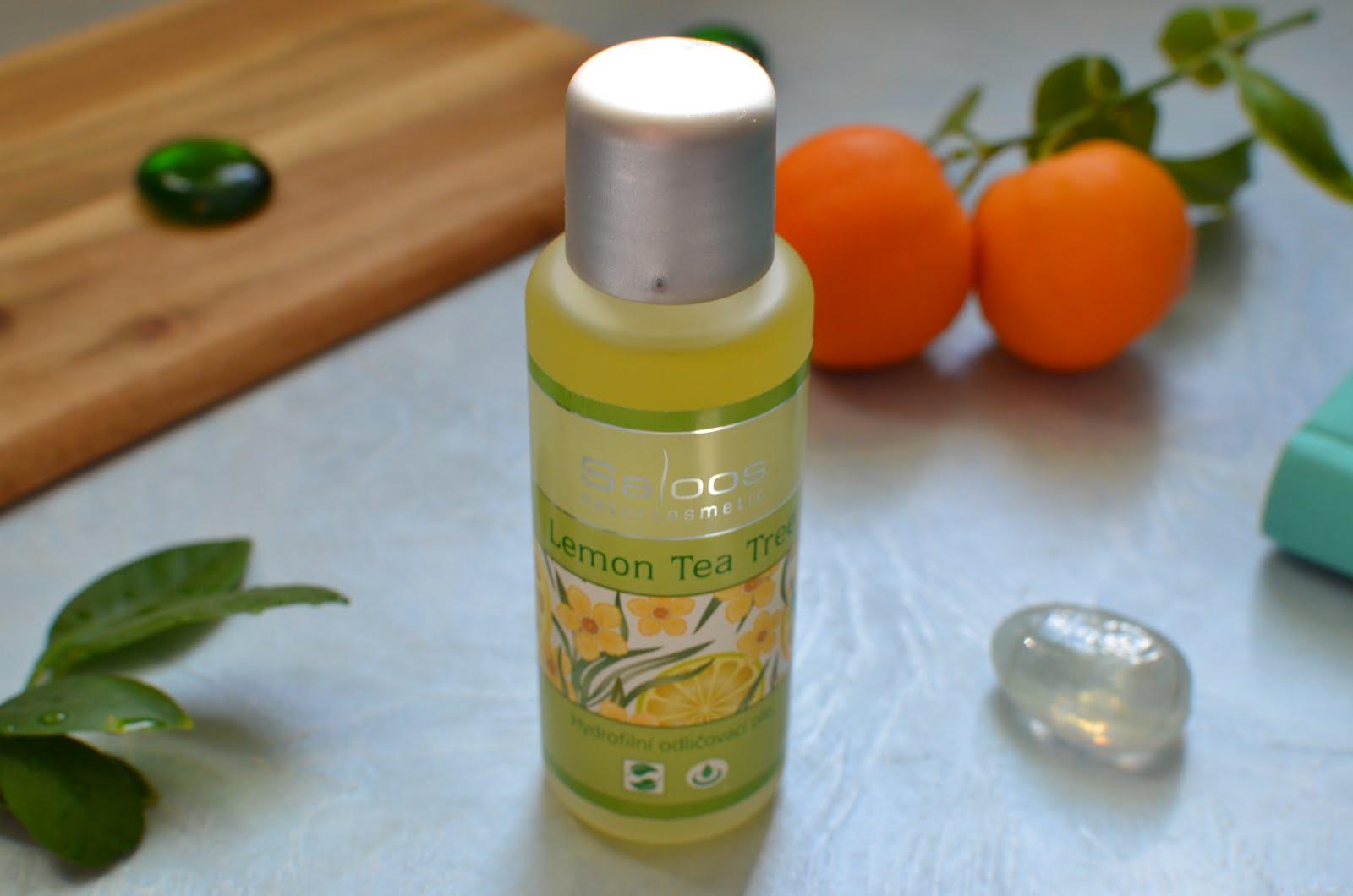 """Saloos Make-up Removal Oil олійка для зняття макіяжу """"Лимонне чайне дерево"""""""