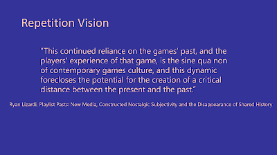 Title: Repetition Vision. Features the quote from the following text.