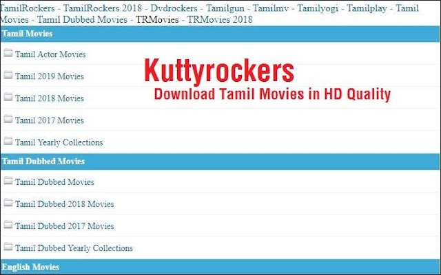 Kutty Rockers Movie Download - KuttyRockers 2020