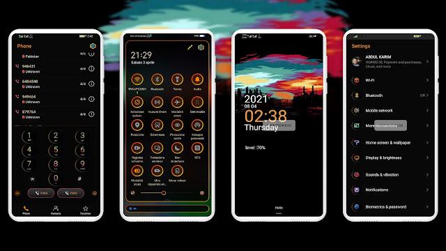 Vega Huawei Theme For Emui 11 / Emui 10.01 / 10 [Emui Themes]