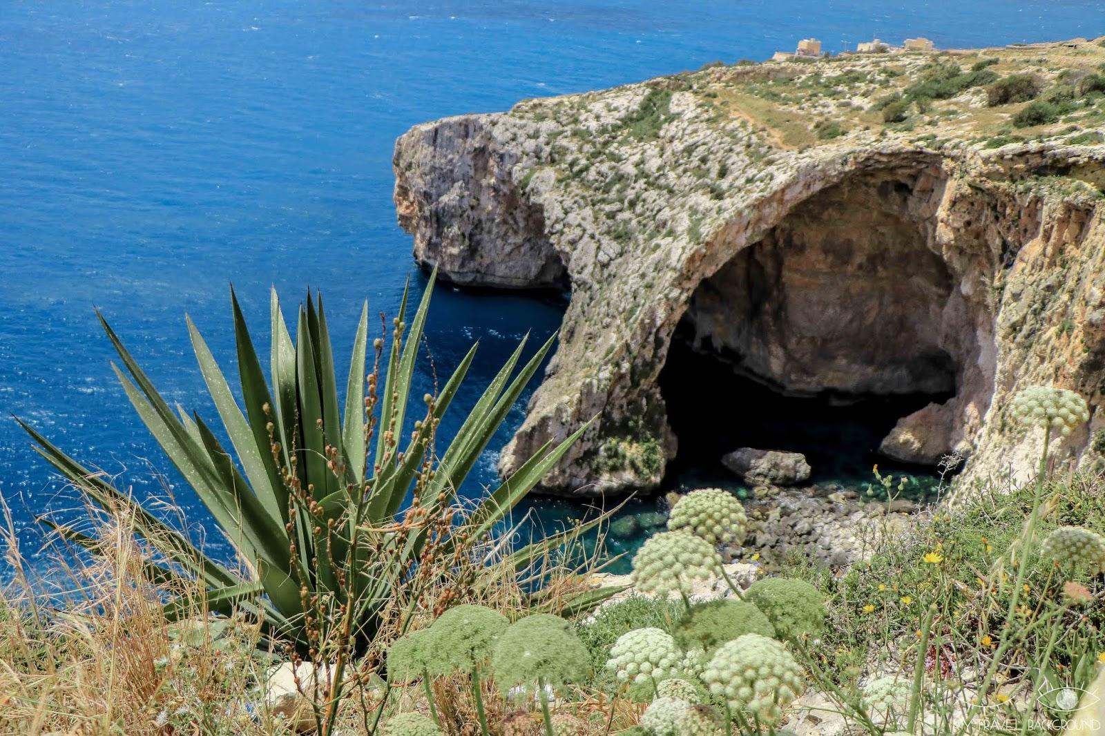 My Travel Background : les incontournables de Malte, Île de Malte (partie 1)  - La grotte bleue