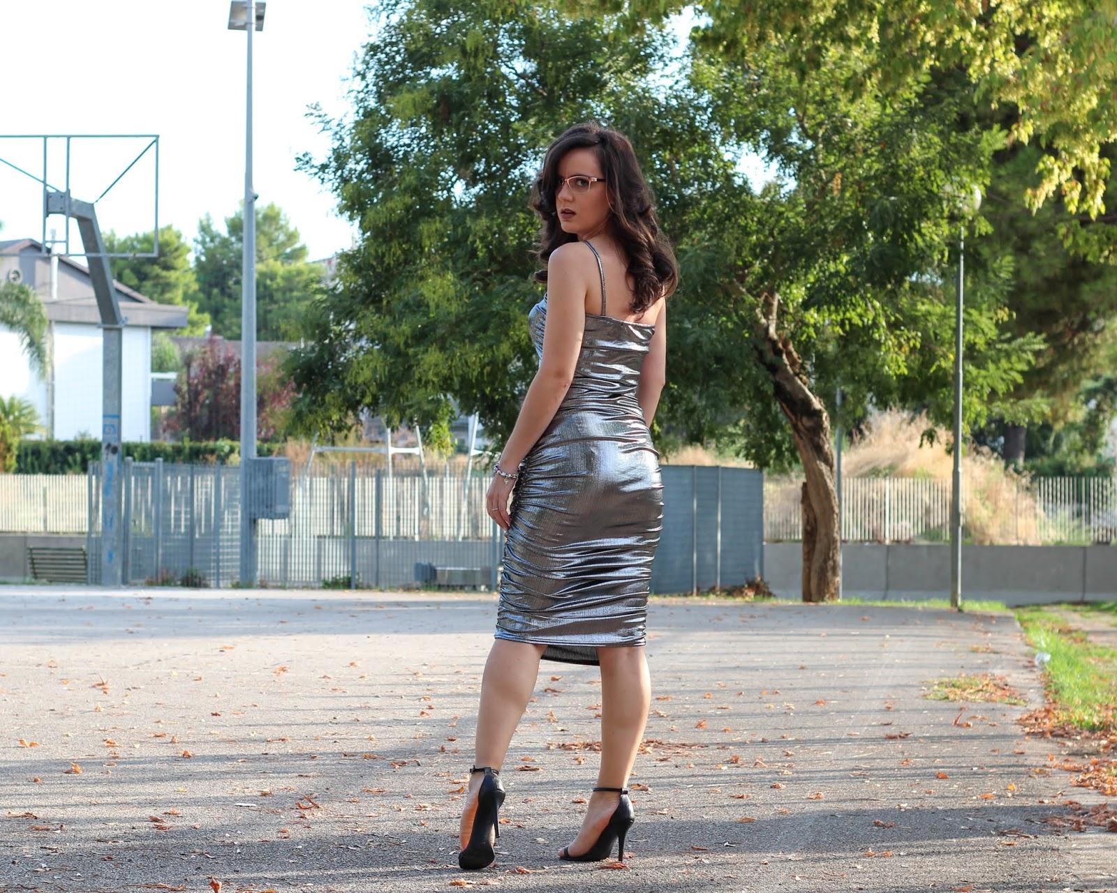 Abbigliamento metallizzato