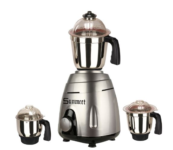 Sunmeet NBTLBR21 1000-Watt Mixer Grinder with 2 Jars