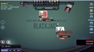 blackjack idn santa poker