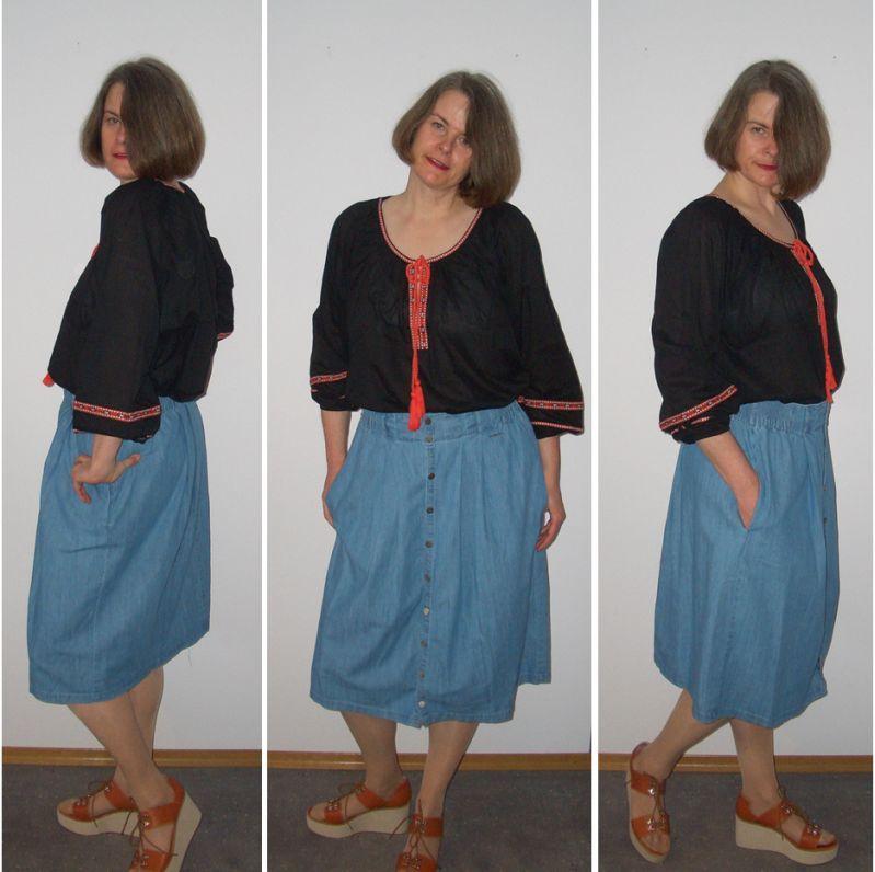 Mode für große Frauen