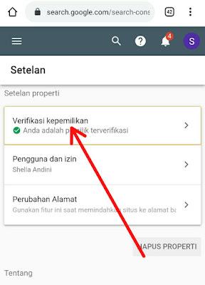 Cara Mendaftarkan Dan Verifikasi Blog Di Google Webmaster Tools (Search Console)
