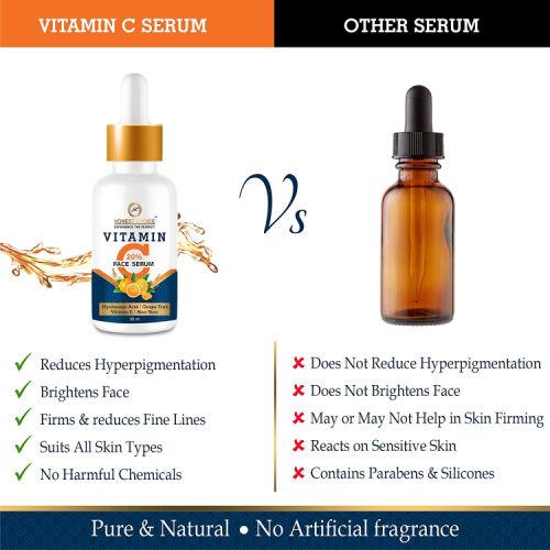 Honest Choice Vitamin C Serum with Hyaluronic acid