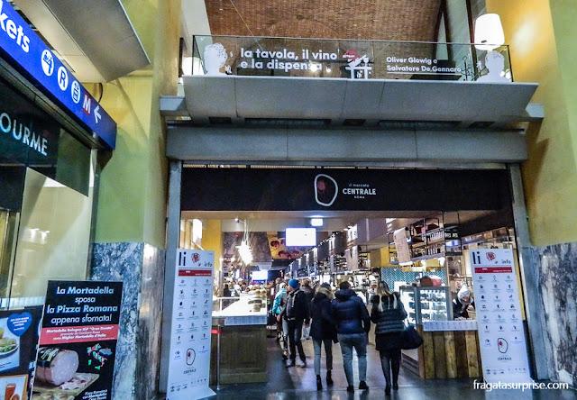Comer em Roma: Mercado Central de Termini