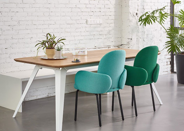 Wooden dining table set designs