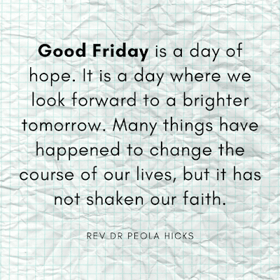 Good friday images with quotes Rev Dr Peola Hicks