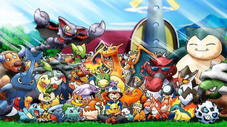 Ash e seus Pokémon