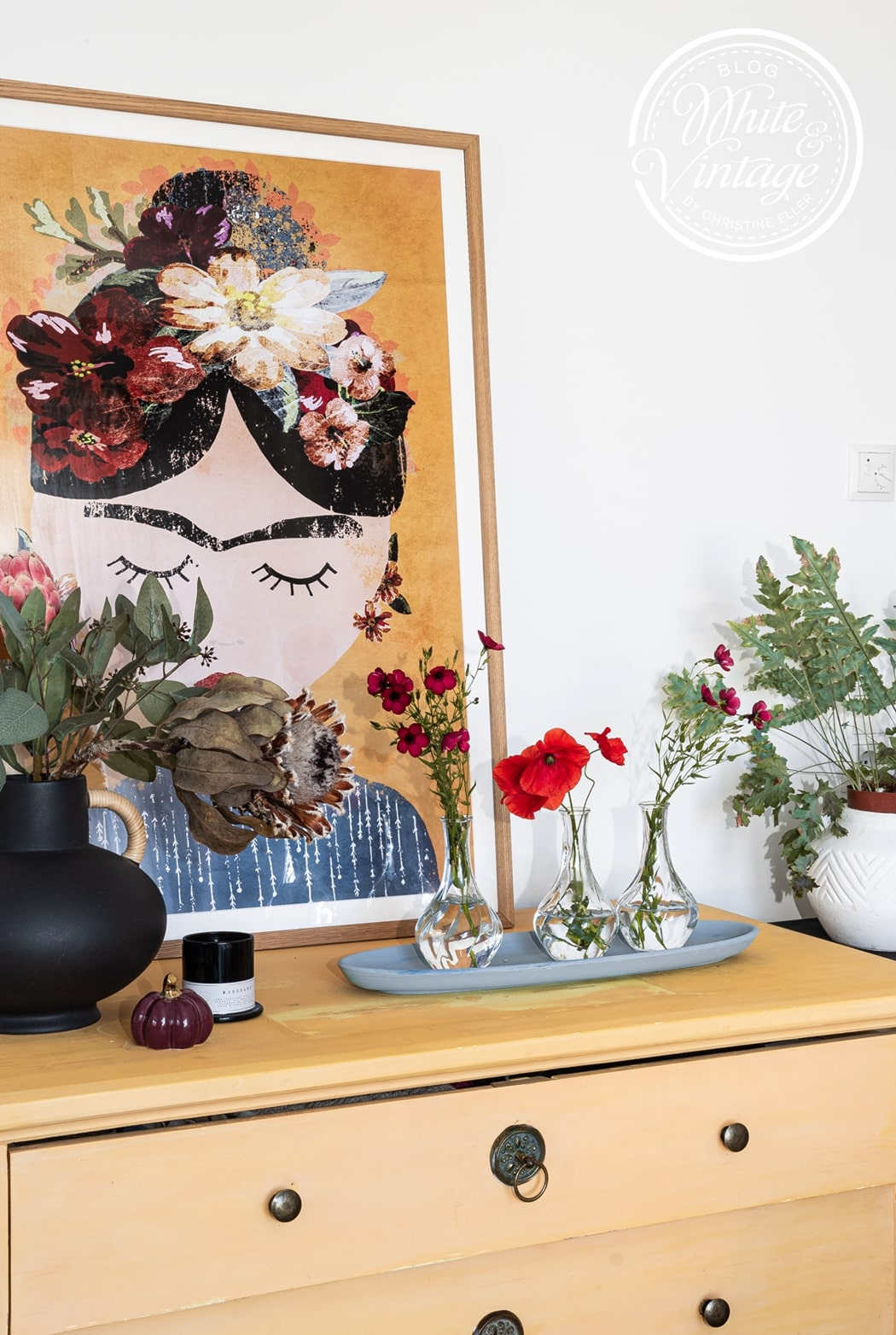 Deko im Terrakotta-Look mit Farbe und Backpulver upcyceln