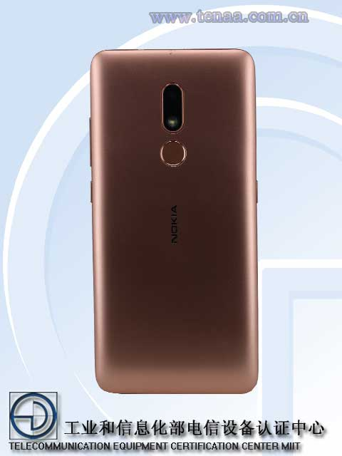 Nokia TA-1258 revealed by TENAA
