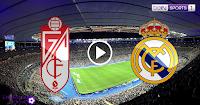مباراة ريال مدريد وغرناطة بث مباشر اليوم