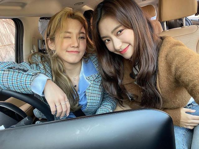 SNSD Hyoyeon and Bora