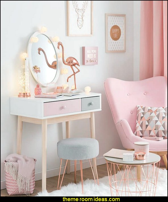 Blush pink decorating - blush pink decor - blush and gold decor - blush pink and gold bedroom decor -  blush pink gold baby girl nursery furniture - blush art prints - rose gold bedroom decor -  blush black bedroom decor - blush mint green decor - Blush Black Gold Glitter home decor - Blush Pink furniture