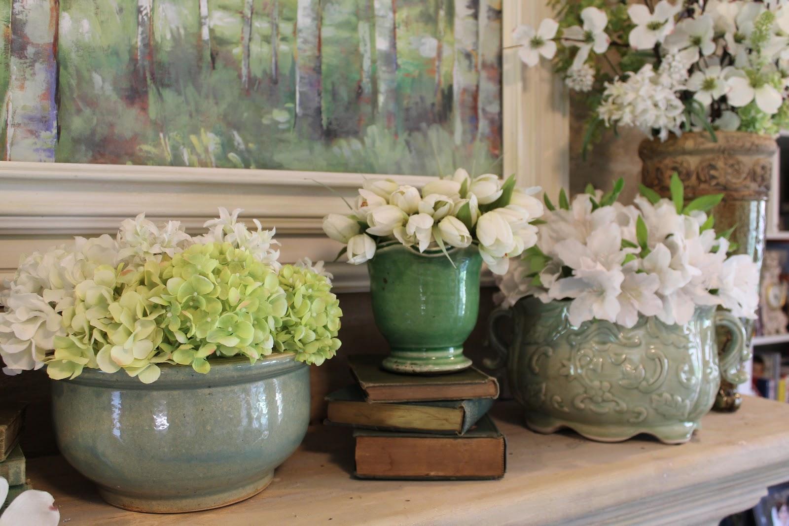 Spring Green Mantle   Miss Kopy Kat