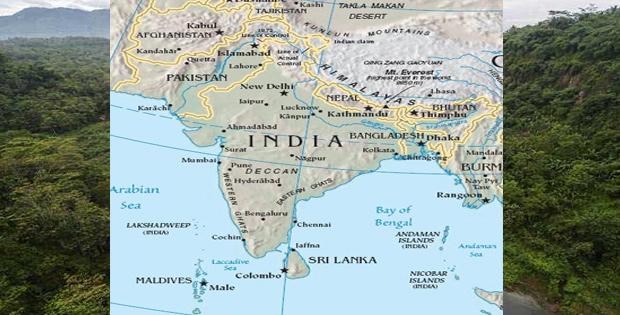 Batas Wilayah Asia Selatan, Keadaan Alamnya, Keadaan Penduduk, dan Bentuk Pemerintahan