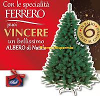Logo Con Bennet e Ferrero vinci ogni giorno 6 Alberi di Natale