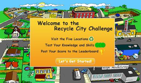 EPA Recycling Game, Kids