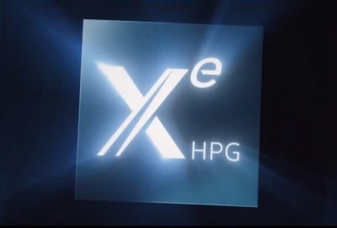Intel Xe HPG gaming graphics card