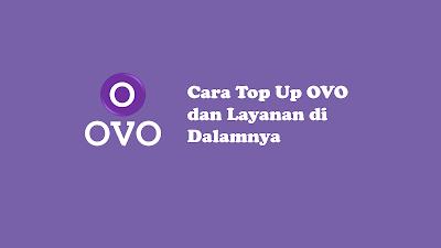 Cara top up OVO