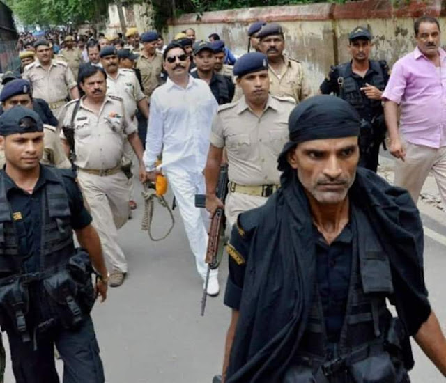 अनंत सिंह साकेत दिल्ली कोर्ट परिसर में सरेंडर किया