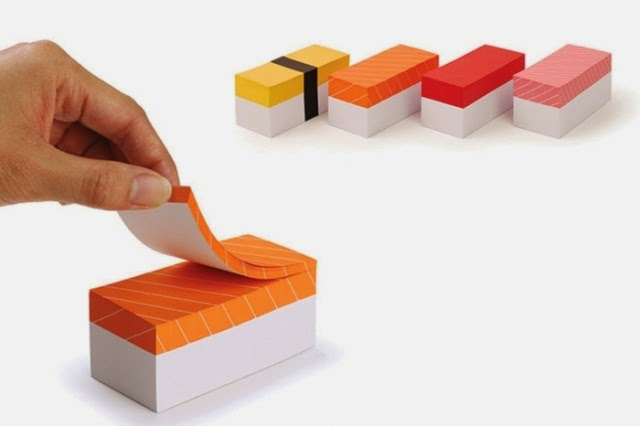 sushi memo pads mr design japan gt fasihon diary