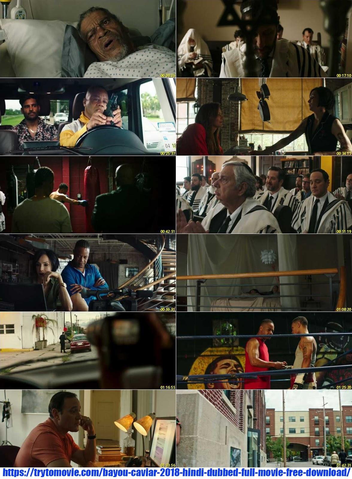 Bayou Caviar 2018 Hindi Dubbed Full Movie Free Download