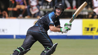 Zimbabwe vs New Zealand Only T20I 2015 Highlights