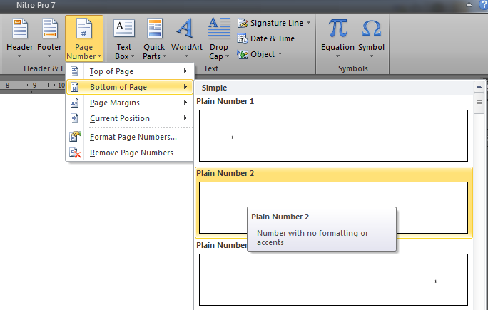 Cara Membuat Halaman yang Berbeda pada Microsoft Word 2010