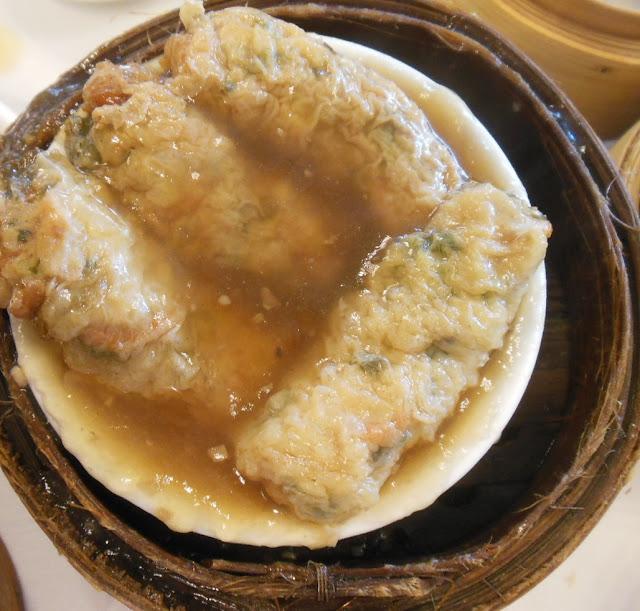 Gold Leaf, Docklands, bean curd rolls